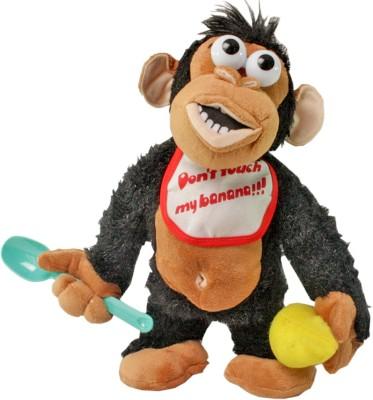 SJ Crying Electronic don,t Take His Banana Stuffed Toy