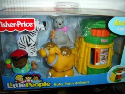 Little People Fisher Price Ba Farm Animals Zebracamelkangaroobooth