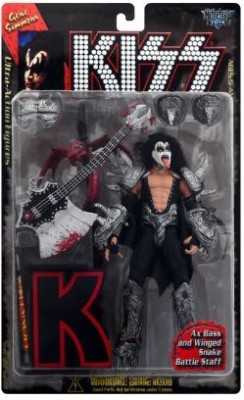 Mcfarlane Toys 1997 KISS Ultra Action Figure with Letter Base - Gene Simmons by McFarlane Toys