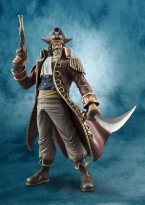 Megahouse One Piece Portrait Of Pirates Dx Gol D Roger Pvc Ex Model