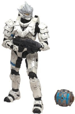 Mcfarlane Toys HALO 2009 Wave 2 - Series 5 Equipment Edition Spartan Soldier Hayabusa Figure