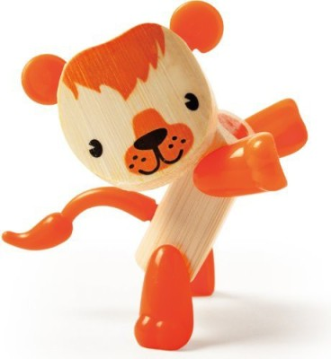 Hape Minimals Lion Bamboo Play
