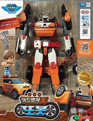Tobot Animation Adventure X Car Transformer Robot Kids Kia Soul