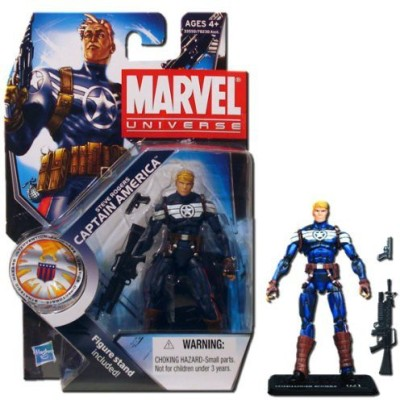 Hasbro Marvel Universe Series 3 Action Figure - Steve Rogers Captain America