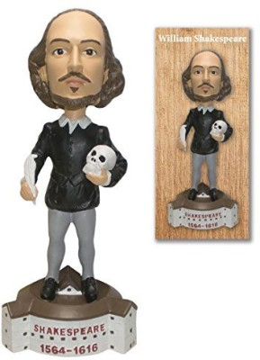 Off the Wall Toys william shakespeare collector bobblehead