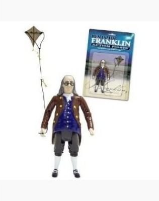 Accoutrements Benjamin Franklin Action Figure