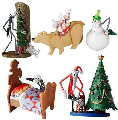 Nightmare Before Christmas - Toy Figures Jun Planning Nightmare Before Christmas Series 1 Trading Figure 4pc Set