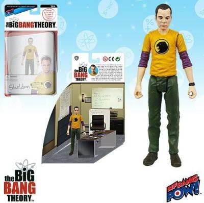 Bif Bang Pow! Big Bang Theory Sheldon Hawkman 3 3/4Inch Con Excl