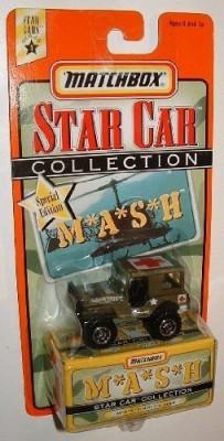 MASH Matchbox Star Car Collection 4077,S Jeep