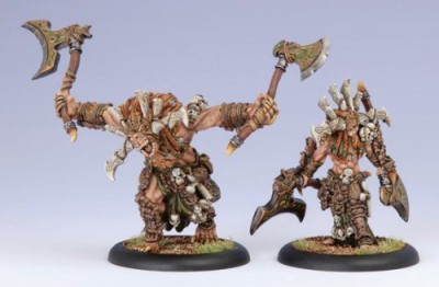 Privateer Press Hordes Circle Orboros Kromac The Ravenous Model Kit