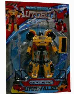 Shop & Shoppee Battle Charged Transformable Autobot