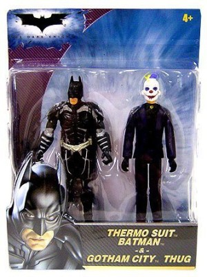 Batman The Dark Knight Thermo Suit And Gotham City Thug 375 Inch