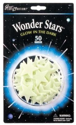 University Games Great Explorations Glow In The Dark Wonder Stars (50 Stars)