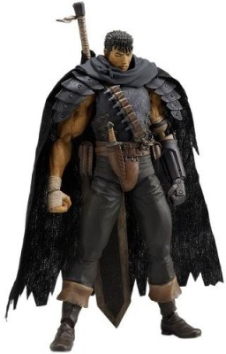 Max Factory Berserk Figma Guts Black Swordsman Ver