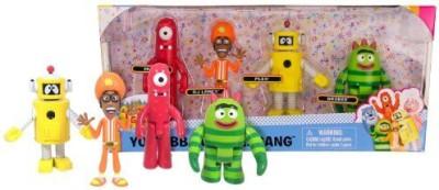 Yo Gabba Gabba Gang 4 Piece Collectors Set 2014 Munodj Danceplexbrobee