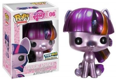 My Little Pony Funko Pop Exclusive Vinyl Metallic Twilight Sparkle
