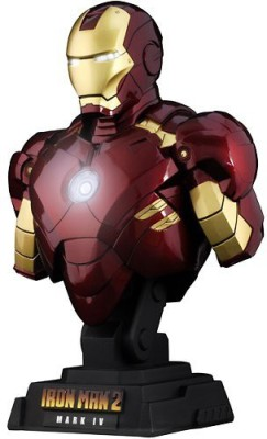 Hot Toys Iron Man 2 1/4 Scale Collectible Bust Iron Man Mark Iv