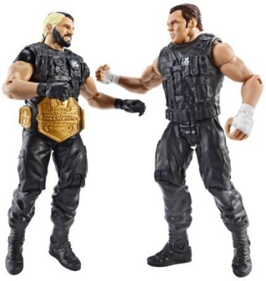 Mattel WWE Battle Pack Seth Rollins vs. Dean Ambrose Action Figure