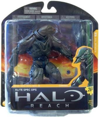 Halo Reach Mcfarlaneseries 3 Elite Special Ops