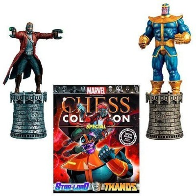 Diamond Marvel Starlord And Thanos Special Chess Piece