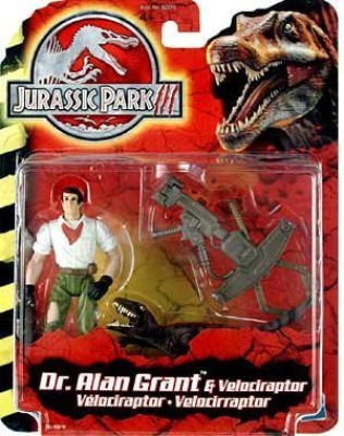 Jurassic Park Iii Dr Alan Grant With Velociraptor
