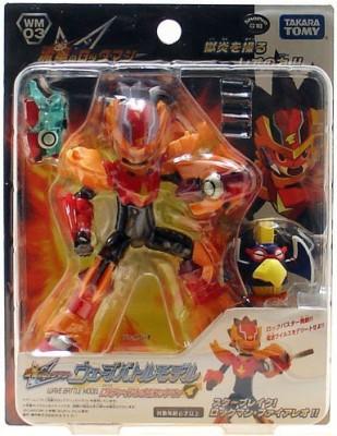 Tomy Megaman Rockman Star Force Takara Wave Battle Dx Wm03 Fire