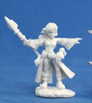 Reaper Miniatures 77031 Bones Cassiegnome Wizard