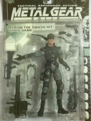 McFarlane Toys 1998 Metal Gear Solid Solid Snake