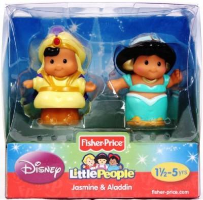 Disney Fisherprice Little People 2 Pack Jasmine And Aladdin
