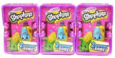 Shopkins Season 2 Multipack 3 Blindsorted Shopping Baskets