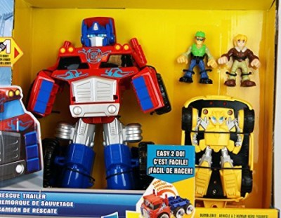 Playskool Deluxe Set Transformers Rescue Bots Optimus Prime
