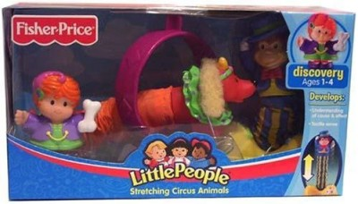 Little People Fisher Price Stretching Circus Animals