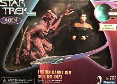 Playmates Star Trek Alien Series Ensign Harry Kim Species 8472