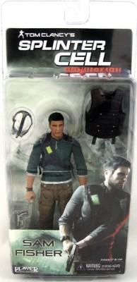 NECA Splinter Cell 7 Inch Action Figure Sam Fisher No Body Armor