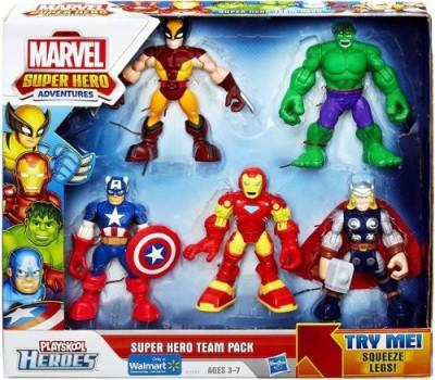 Super Hero Adventures Playskool Heroesmarvel Super Hero Team Pack
