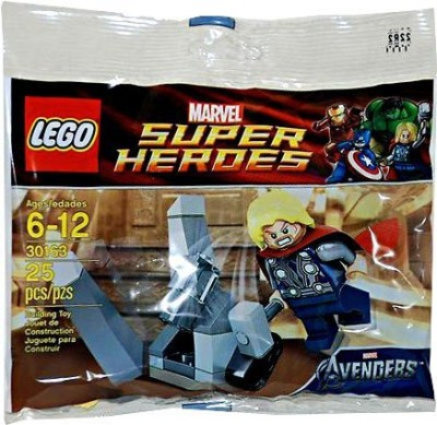 Lego Super Heroes Thor And The Cosmic Cube 30163