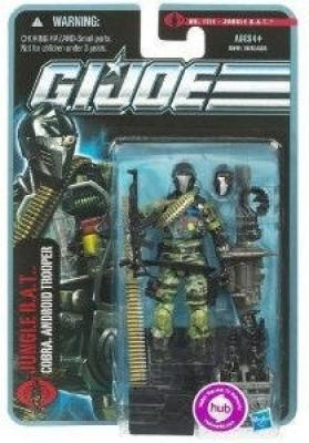 Hasbro G.I. Joe Pursuit of Cobra 3 3/4 Inch Action Figure Jungle BAT