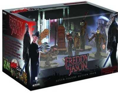 Horror Clix Freddy vs. Jason Action Pack
