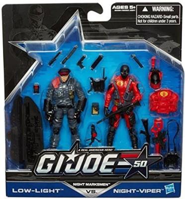 G I Joe 50Th Anniversarynight Marksmen Exclusive Set