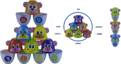 toys&games ANIMAL BOWLING 2 IN 1 FOR TODDLERS