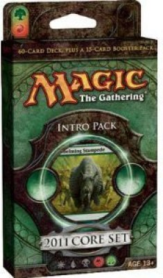 Wizards of the Coast Magic 2011 Core Set Intro Theme Pack Stampede Of Beasts