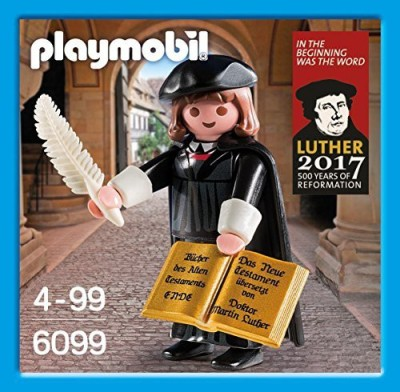 PLAYMOBILa Playmobil 6099 - Martin Luther - Special Edition - 500 Years of Reformation(Green)