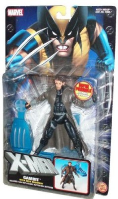 Toy Biz Marvel 2004 Xmen 6 Inch Tall Gambit With Super Poseable 33