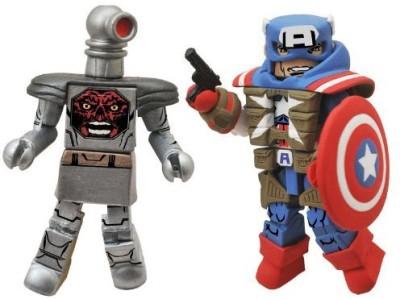 Diamond Select Minimates Marvel Series 54 Fighting Chance Captain America