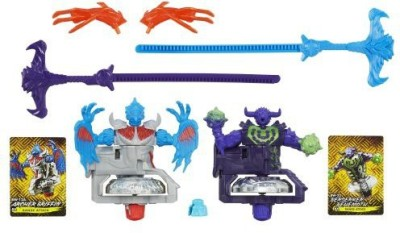 Beyblade Shogun Steel Beywarriors Earth Vs Sky Element 2Pack