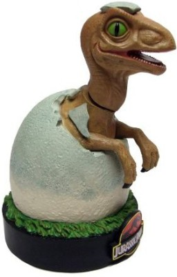 Factory Entertainment Jurassic Park Raptor Hatchling Shakems Premium Motion Statue