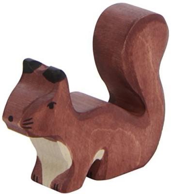 Holztiger Wooden Squirrel