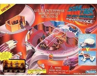Playmates Star Trek the Next Generation Innerspace Playset - U.S.S. Enterprise NCC-1701-D