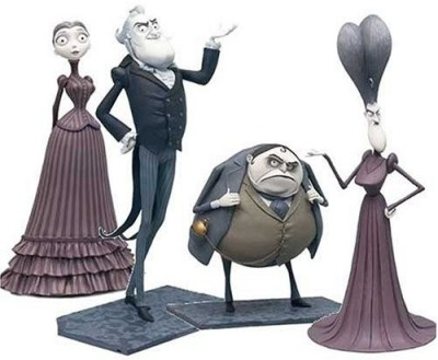 T M P Intl Corpse Bride Mini Collector Set Land Of Living Boxed Set