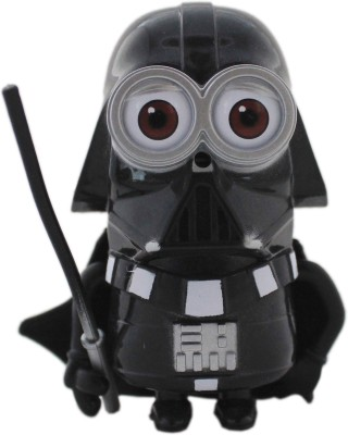 Tootpado Cartoon Space Wars Super Villan Action Figure Toys (1c320) - Black